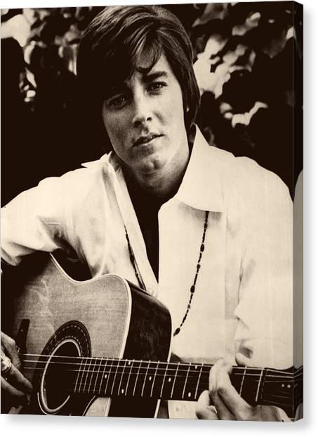 Canvas Print - Singer Bobby Sherman 1969 by Mountain Dreams
