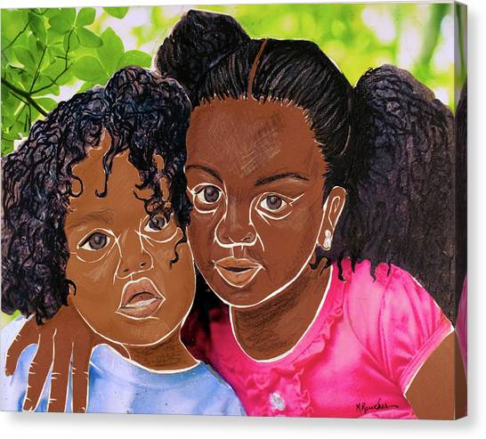 My Little Sister Canvas Print