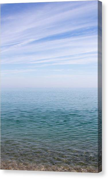 Sky To Shore Canvas Print