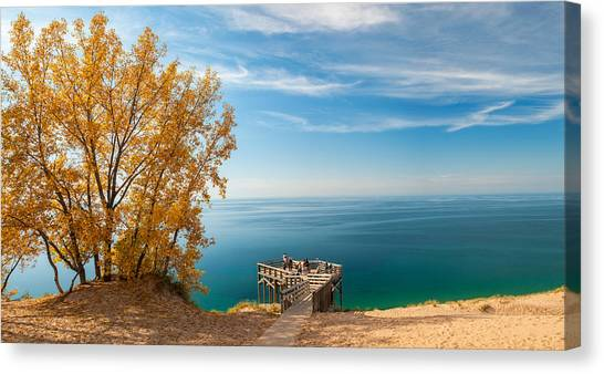Sleeping Bear Overlook Canvas Print