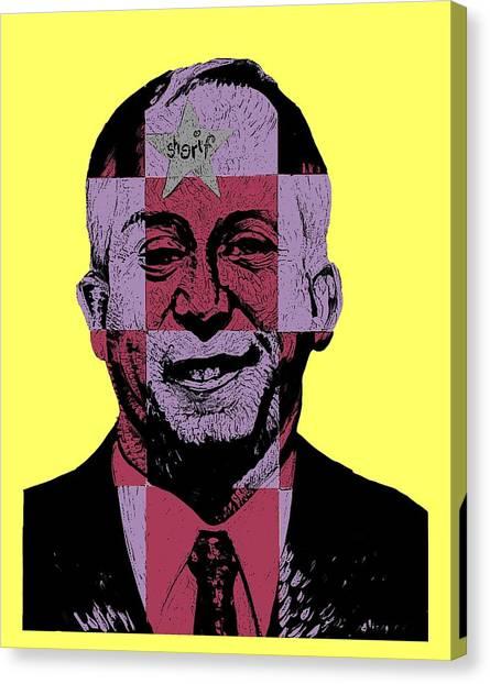 Republican Politicians Canvas Print - Smugshot by Steve Hunter