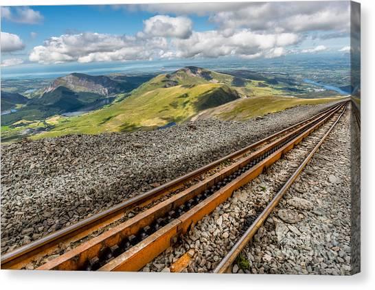 Llanddwyn Island Canvas Print - Snowdon Mountain Railway by Adrian Evans