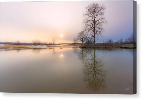 Phoenix Suns Canvas Print - Soft Sunset by Everet Regal