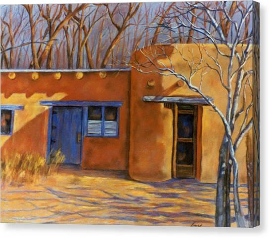 Sol Y Sombre Canvas Print