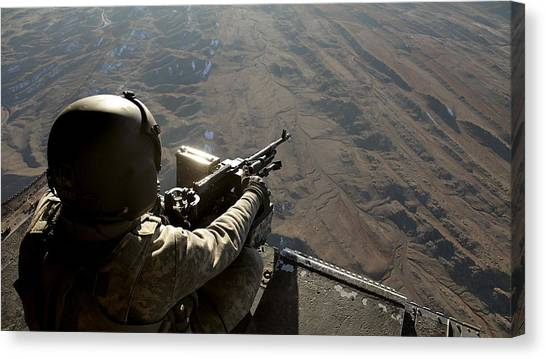 Flutes Canvas Print - Soldier by Mariel Mcmeeking