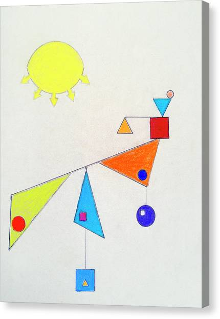 Something New Under The Sun Canvas Print