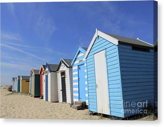 Southwold Beach Huts Canvas Print