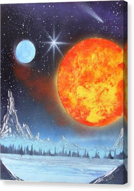 Space Art 2 Canvas Print by Lane Owen