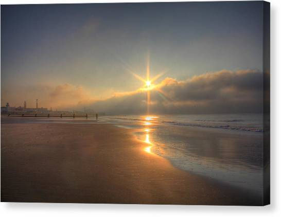 Sparkling Sunrise Canvas Print