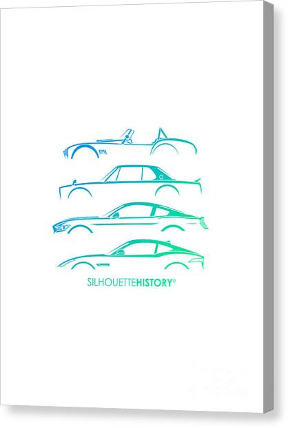 Cobras Canvas Print - Special Selection Silhouettehistory by Gabor Vida