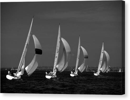 Spinnaker Run Canvas Print
