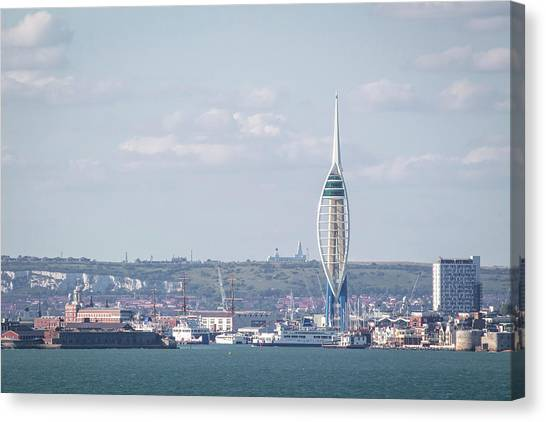 Spinnaker Tower Canvas Print