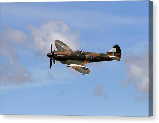 Wii Canvas Print - Spitfire by Shoal Hollingsworth
