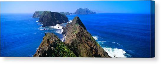 Landform Canvas Print - Spring At Anacapa Island, Channel by Panoramic Images