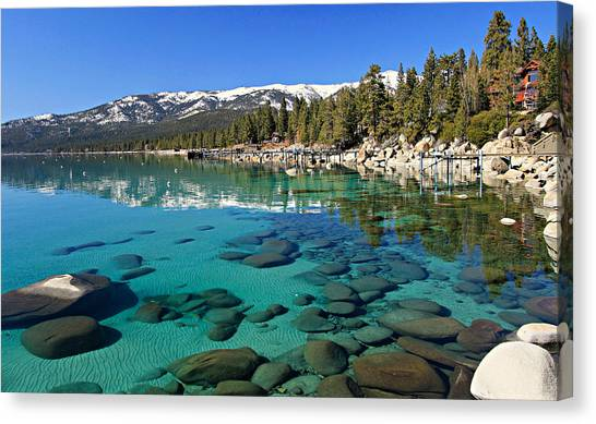 Canvas Print featuring the photograph Spring Clarity by Sean Sarsfield