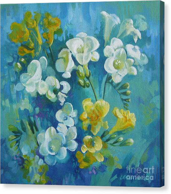 Spring Fragrances Canvas Print