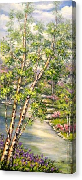 Spring Canvas Print by Mirjana Gotovac
