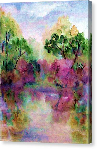 Spring Time In Alabama Canvas Print by Anne Hamilton