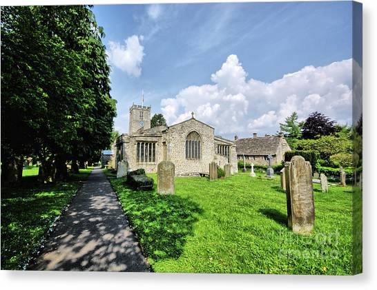 Andrew Canvas Print - St Andrews Church by Smart Aviation