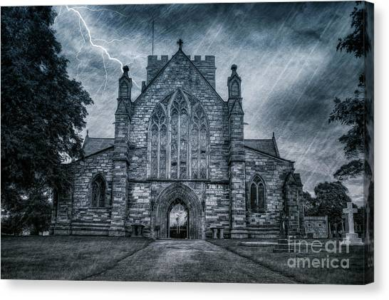 St Asaph Cathedral Canvas Print