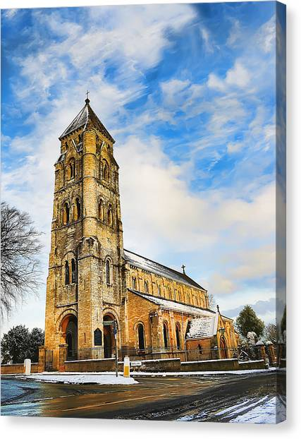 St. Edward Canvas Print
