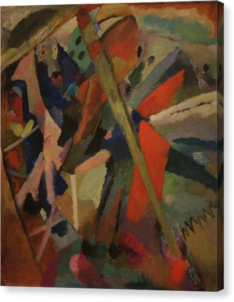 St. George Canvas Print by Wassily Kandinsky