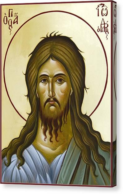 St John The Forerunner Canvas Print by Julia Bridget Hayes