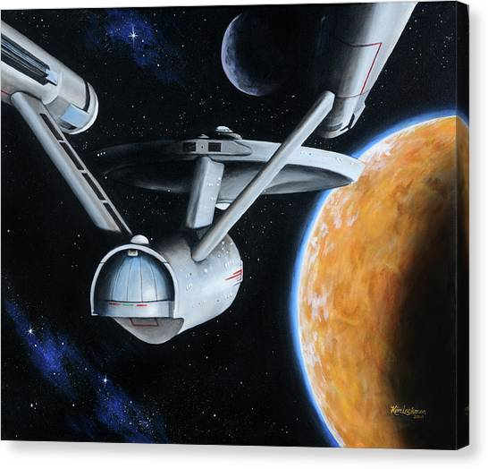 Standard Orbit Canvas Print