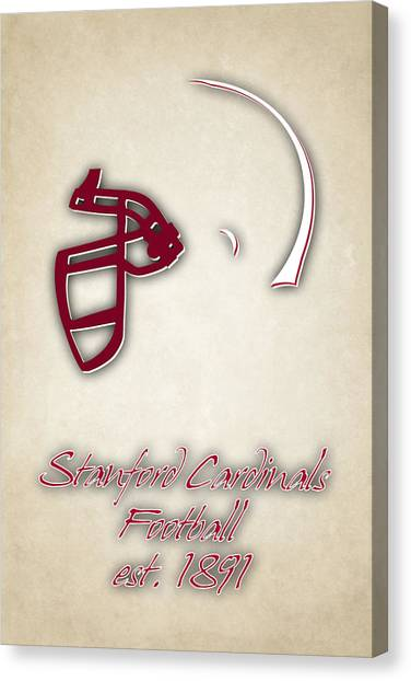 Stanford University Canvas Print - Stanford Cardinals by Joe Hamilton