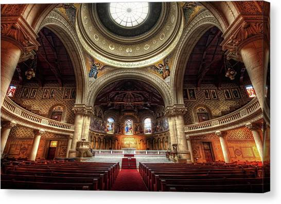 Stanford University Canvas Print - Stanford Memorial Church by Jackie Russo