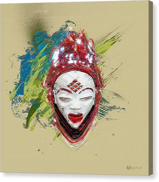 Stars Canvas Print - Star Spirits - Maiden Spirit Mukudji by Serge Averbukh