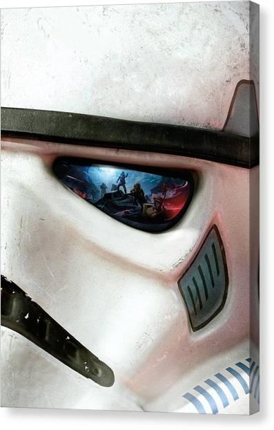 Chewbacca Canvas Print - Star Wars Battlefront 2015 by Geek N Rock