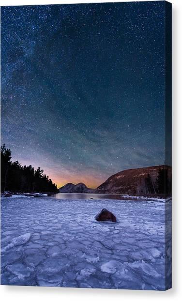 Stars On Ice Canvas Print