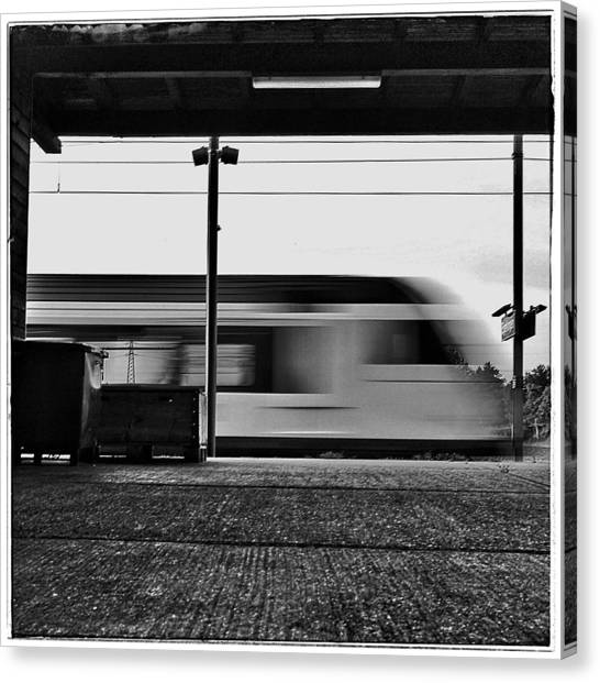 Trainspotting Canvas Print - Station by Daniel Kaufmann