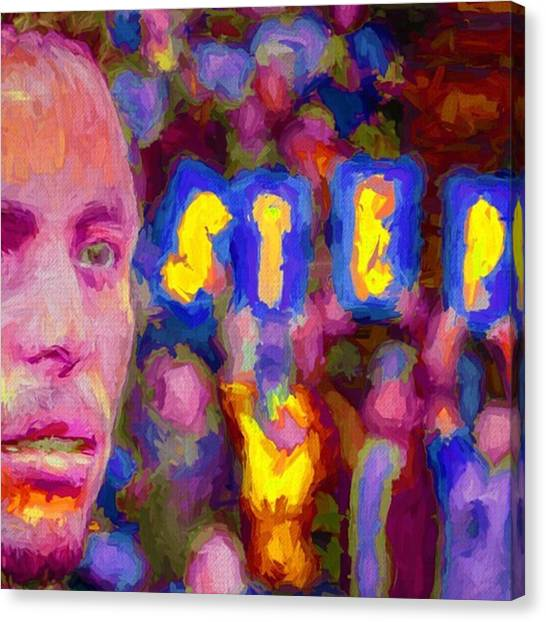 Painters Canvas Print - #stephcurry #curry #goldenstatewarriors by David Haskett II