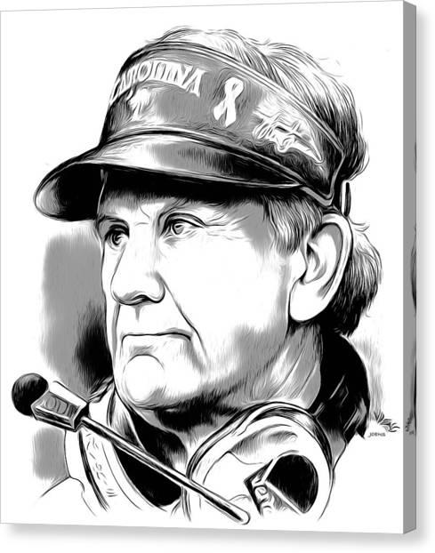 Carolina Canvas Print - Steve Spurrier by Greg Joens