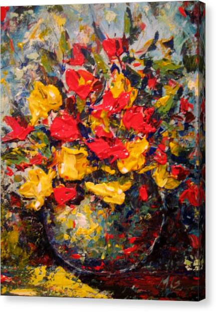 Still Life Canvas Print by Mirjana Gotovac