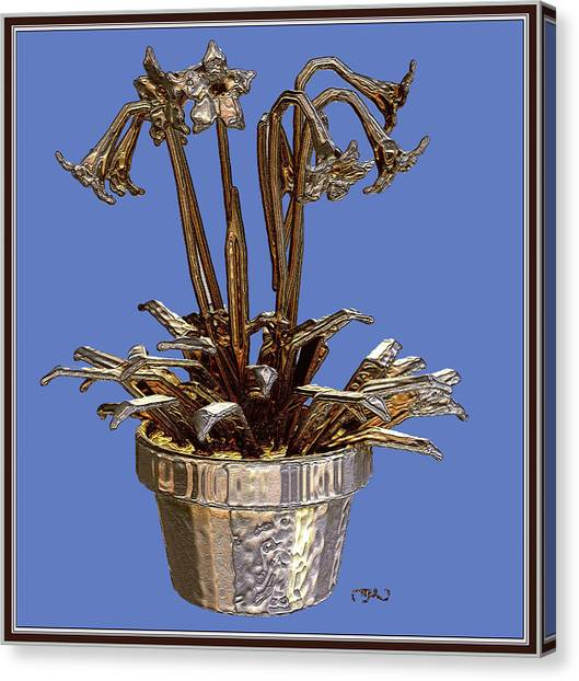Still Life With Flowers 1 Canvas Print