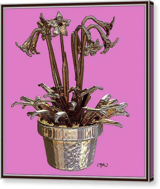 Still Life With Flowers 2 Canvas Print