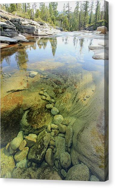 Canvas Print featuring the photograph Stream Dreams by Sean Sarsfield
