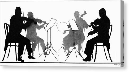 Violins Canvas Print - String Quartet, C1935 by Granger