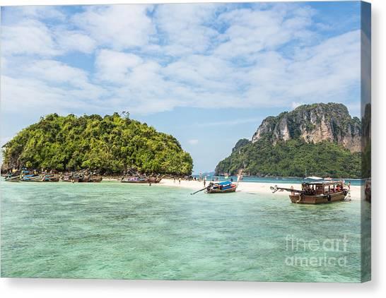 Stunning Krabi In Thailand Canvas Print