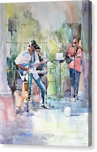 Summer Song Canvas Print by Natalia Eremeyeva Duarte