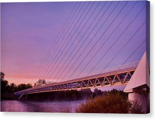 Sundial Bridge Canvas Print