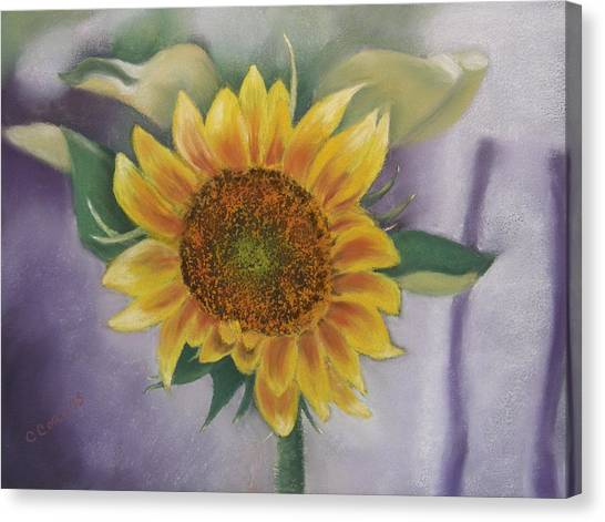 Sunflowers For Nancy Canvas Print