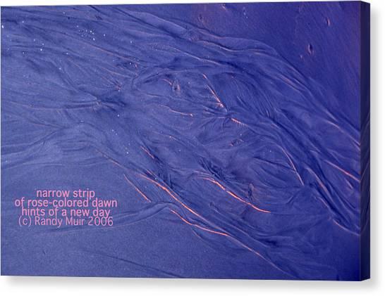Sunrise Captured Canvas Print by Randy Muir