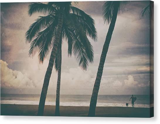 Surf Mates 2 Canvas Print