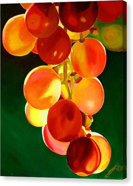 Sweet From The Sun Canvas Print