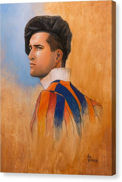 Swiss Guard Canvas Print