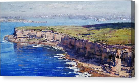 Harbour Canvas Print - Sydney Harbour by Graham Gercken